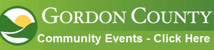 Gordon County Community Events