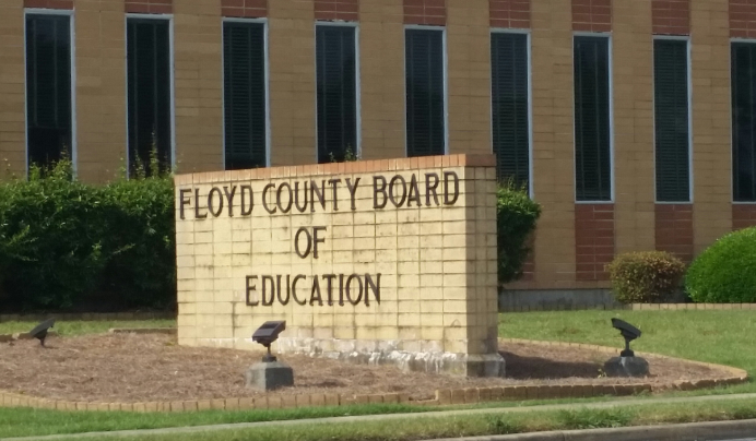 Richardson Forfeits Property to Floyd County Board of Education