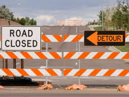 Evertt Springs to Close Lane of Traffic