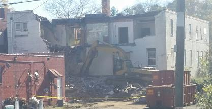 Demolition Begins on Former McCall Hospital
