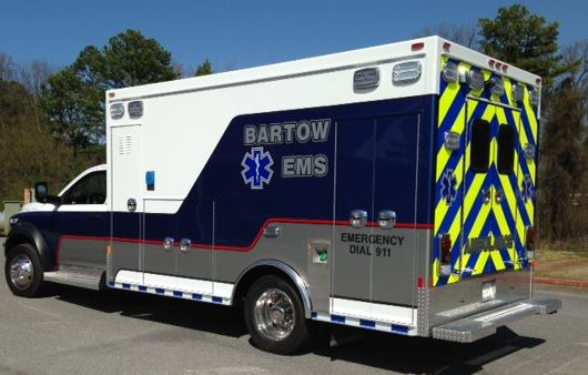 Bartow EMS Dispatched to Toyo Tire For Industrial Accident