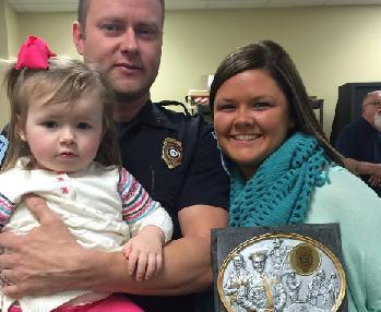 Floyd County Police Honors Officers of the Year