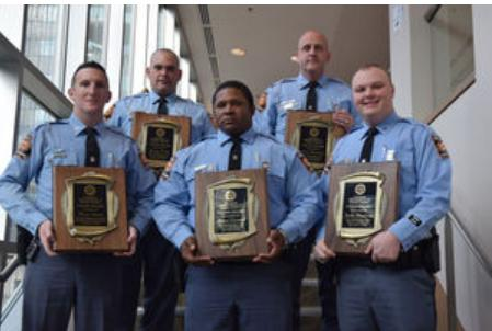 Local GSP Troopers Honored with Department Valor Award