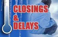 Monday Closings and Cancellations