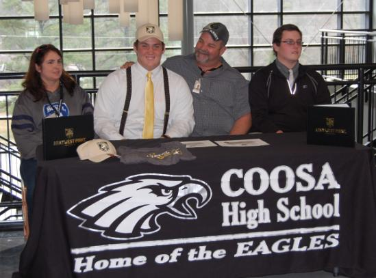 Coosa's Peyton Reeder signs with Army's West Point