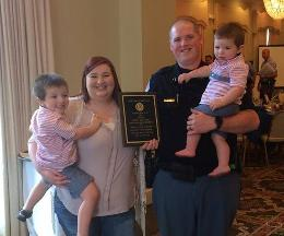 Floyd County Police Officer Honored
