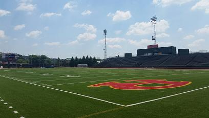 Areas of Barron Stadium to Close for Painting
