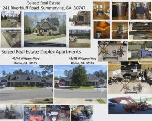 Richardson Seized Property