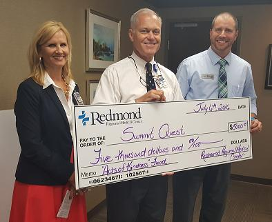 Redmond Employees Raise Funds for Summit Quest