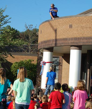 Armuchee principal is a rooftop administrator for school exceeding fundraising goal