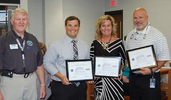 Coosa High administrators receive Prestigious Award