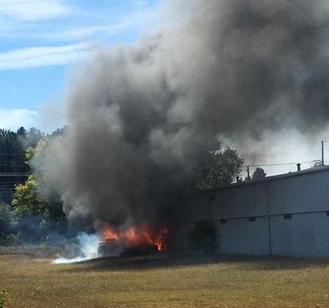 West Rome Company Catches Fire, Evacuated