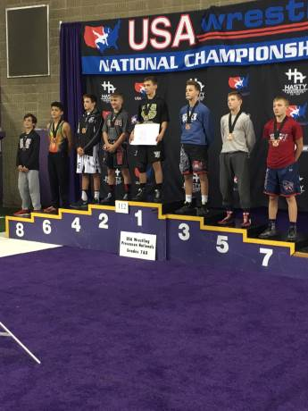 Darlington's McDurmon earns All-American wrestling status