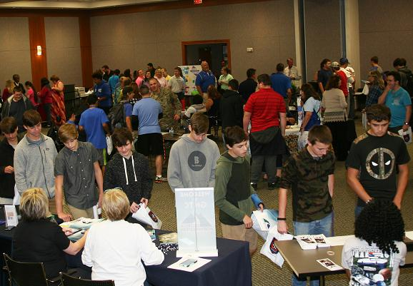 More than 300 High School Students Attend  Transition Fair at GNTC's Floyd County Campus