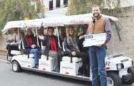 Rome BID Presents Check to Support Free Downtown Shuttle Service