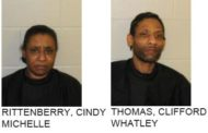 Two Felons Arrested for Possession Two Guns