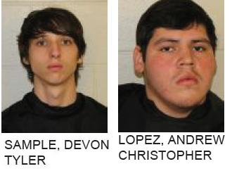 Rome Teens Charged with Breaking into and Burglarizing Home