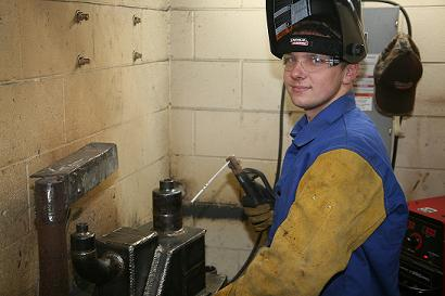 GNTC Student Ryan Fincher is a Top Six Finalist for an International Welding Competition