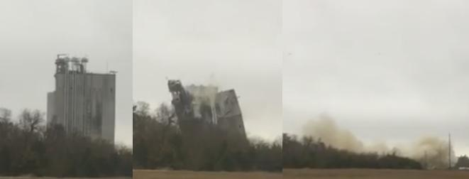 JCG Farms Feed Mill in Rockmart Demolished