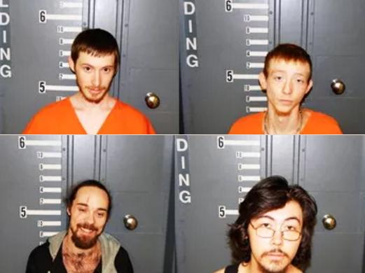 Four Arrested on Drug Charges Monday; Two Charged in Connection With Local Burglary