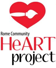 7th Annual Rome Community HeART Project Seeks Locals