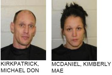 Cedartown Couple Charged with Burglarizing Silver Creek Home