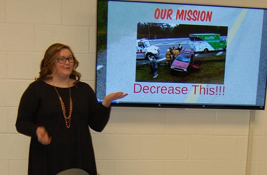 Pepperell SADD teens propose fixes for safety concerns on Hwy 101 to DOT