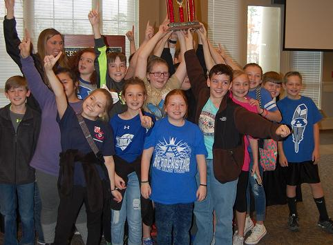 Armuchee Elementary wins annual Academic Quiz Bowl