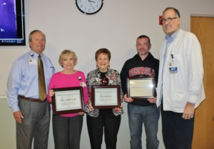 Cartersville Medical Center Honors Three for their Work