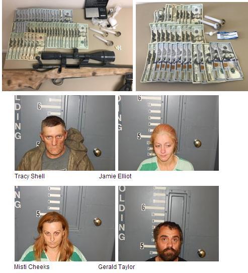 Sheriff's Office Investigators Make Several Arrests involving Drugs and Stolen Property