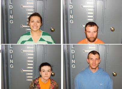 Four Arrested on Drug Charges and Stolen Property Recovered