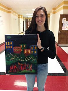Pepperell senior will have artwork displayed at Capitol