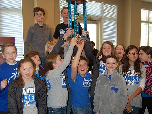 Model Middle wins Academic Quiz Bowl for middle schools