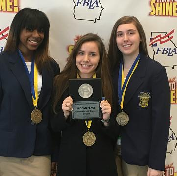 Teens excel at FBLA state leadership conference