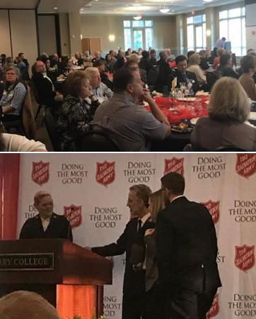 Salvation Army in Rome Honors Volunteers and Workers, Celebrates 130 Years