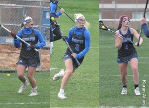 Shorter Women's Lacrosse Sweeps GSC Player of the Week Honors