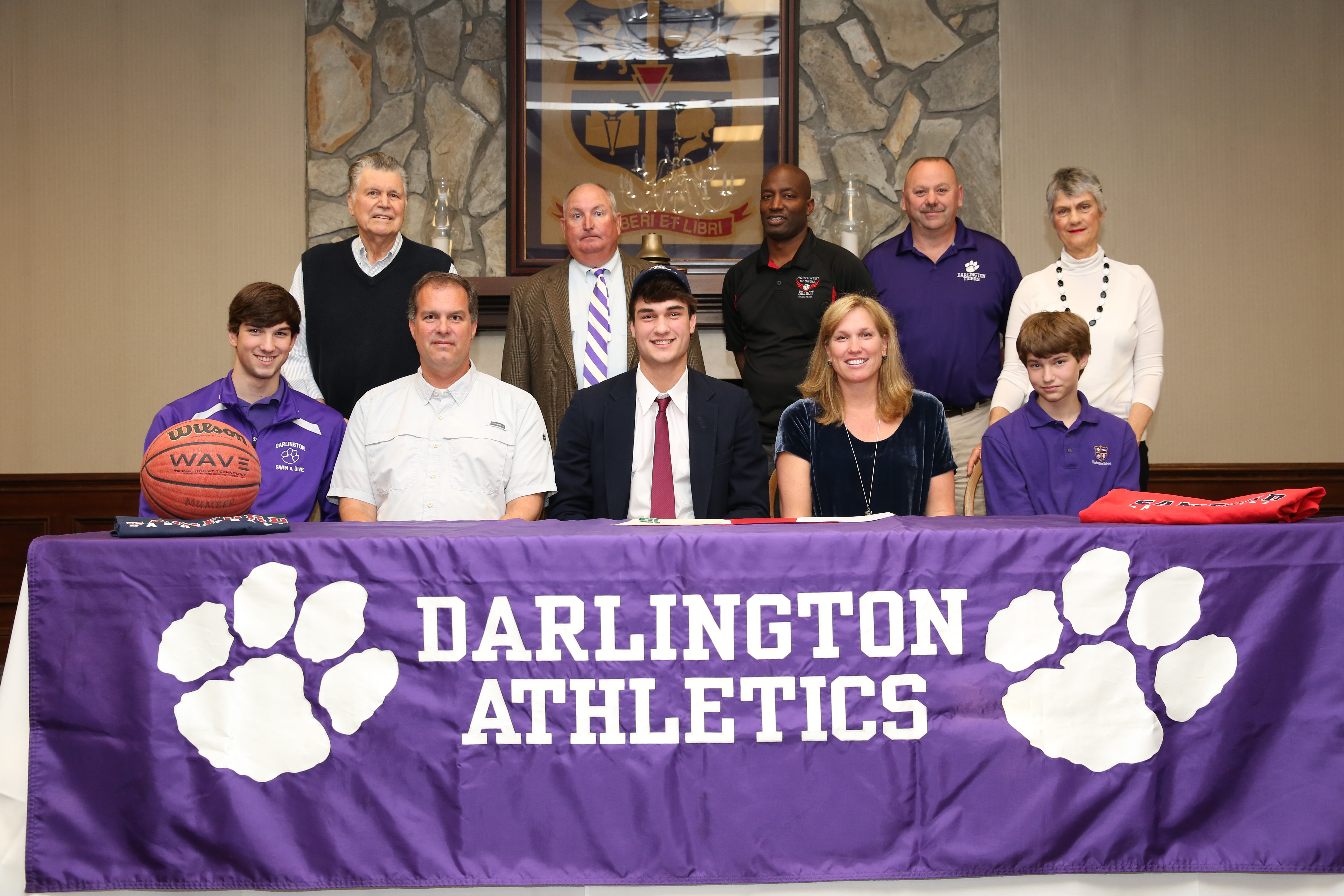 Darlington Senior Signs with Samford