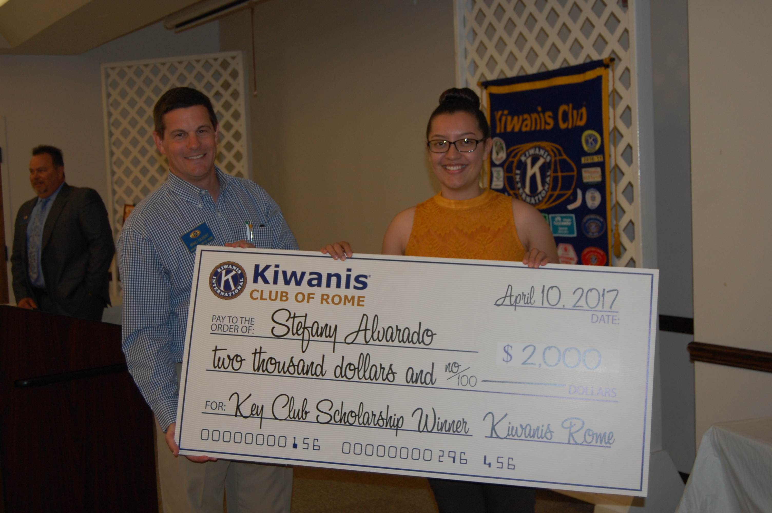 Kiwanis Club of Rome awards $9,500 in scholarships to local teens