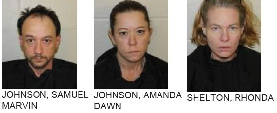 Three Charged with Felonies After Shoplifting Groceries