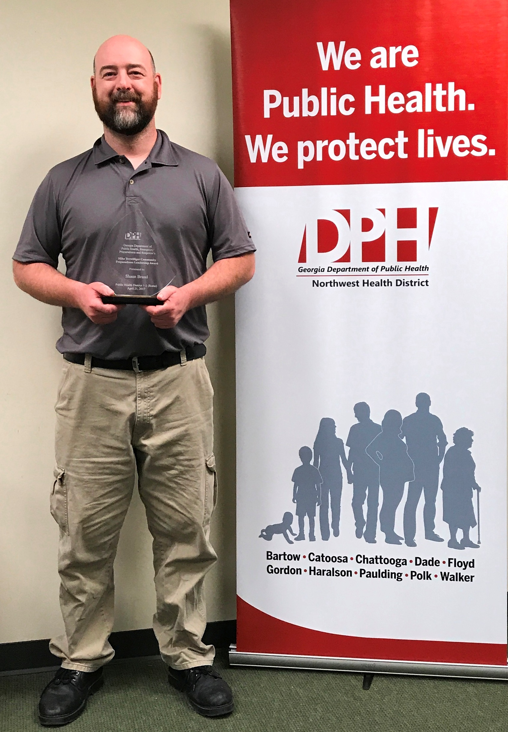 Local Man Wins Community Preparedness Leadership Award