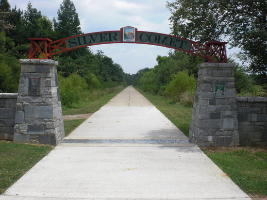 Silver Comet Trail Gets $6 million Donation