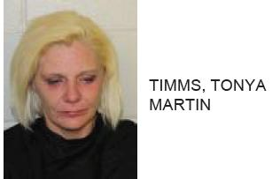 Cedartown Woman Caught Stealing Lotion, Found with Drugs