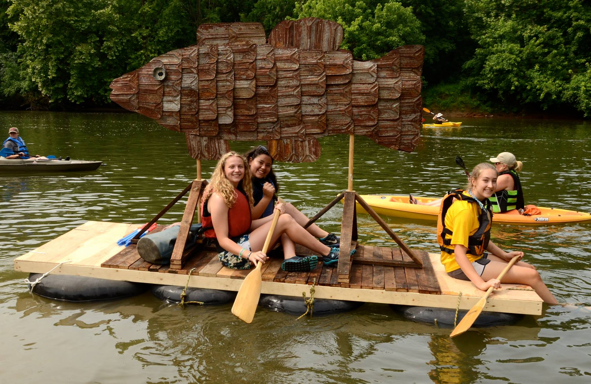 Etowah River Paddle Trip toHelp Raise Funds for 163 Mile Boating Trail