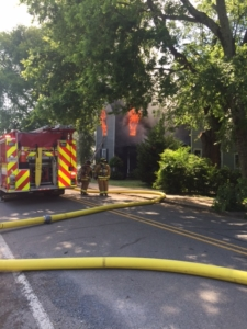 Cartersville Boarding House Catches Fire
