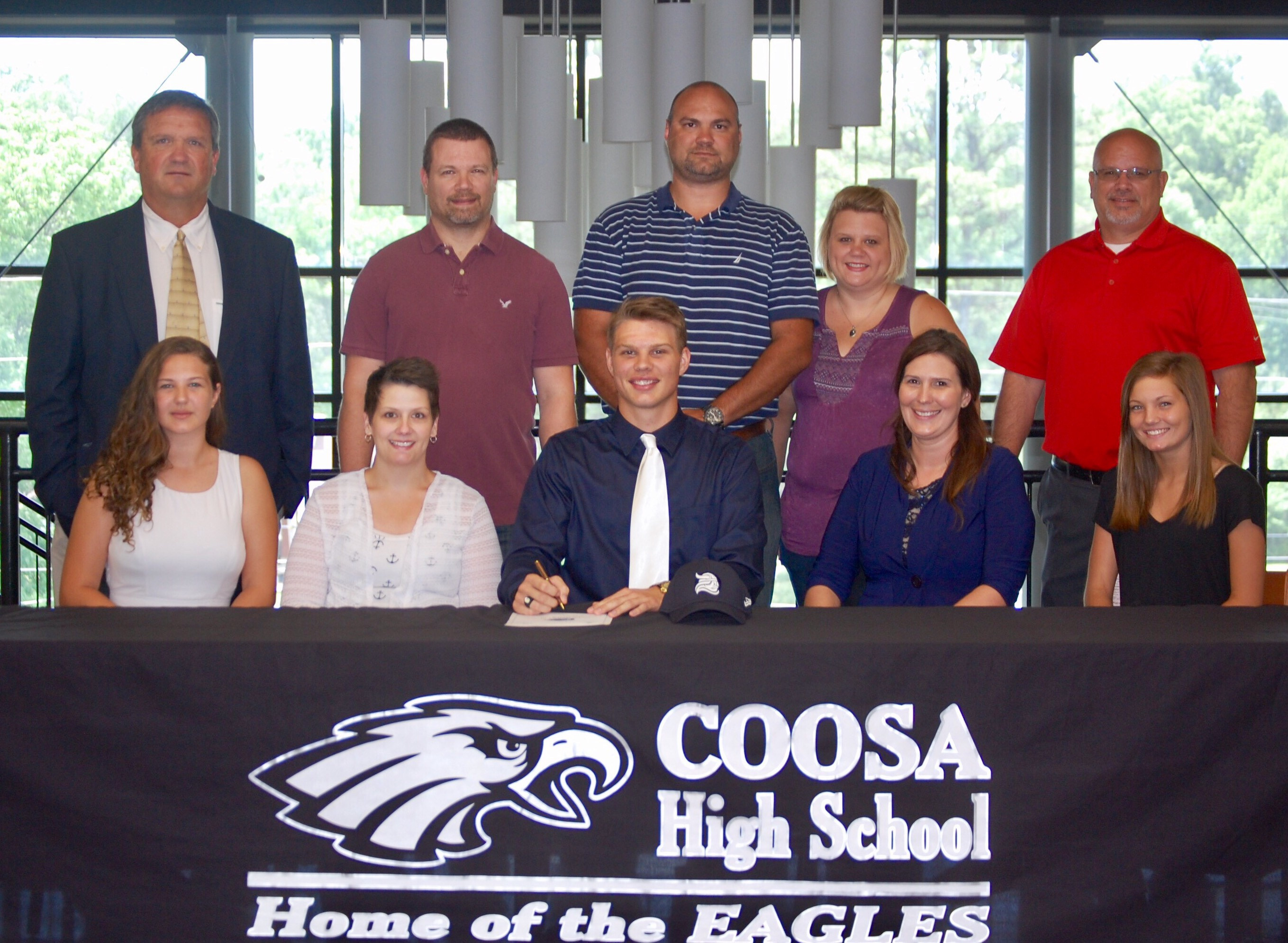 Coosa High's Blackburn Signs with Berry.