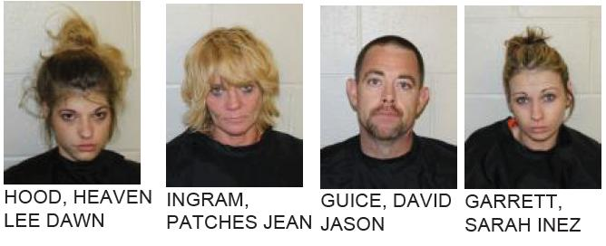 Four Arrested After Drug Raid of Lindale Home