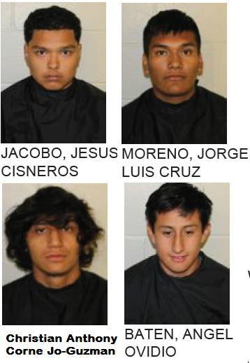 Four Teens Arrested on Drug Charges After Traffic Stop