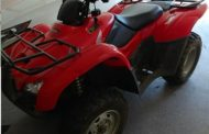 Floyd County Police Investigating Stolen ATV