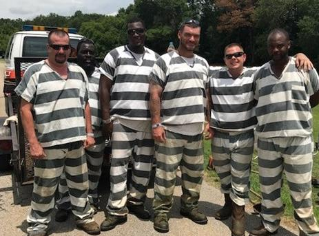 Polk County Jail Inmates on Work Detail Saves Officer's Life