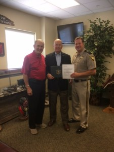 Sheriff Ralston Appoints GSA Executive Director as Deputy Sheriff of Gordon County